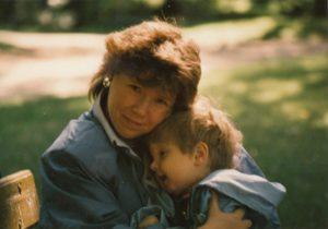 Ewa Witarzewska z mamą