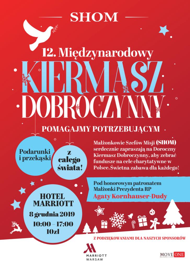 plakat SHOM bazar 2019